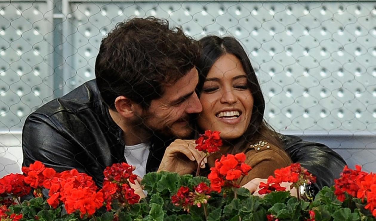 Iker Casilla y Sara Carbonero