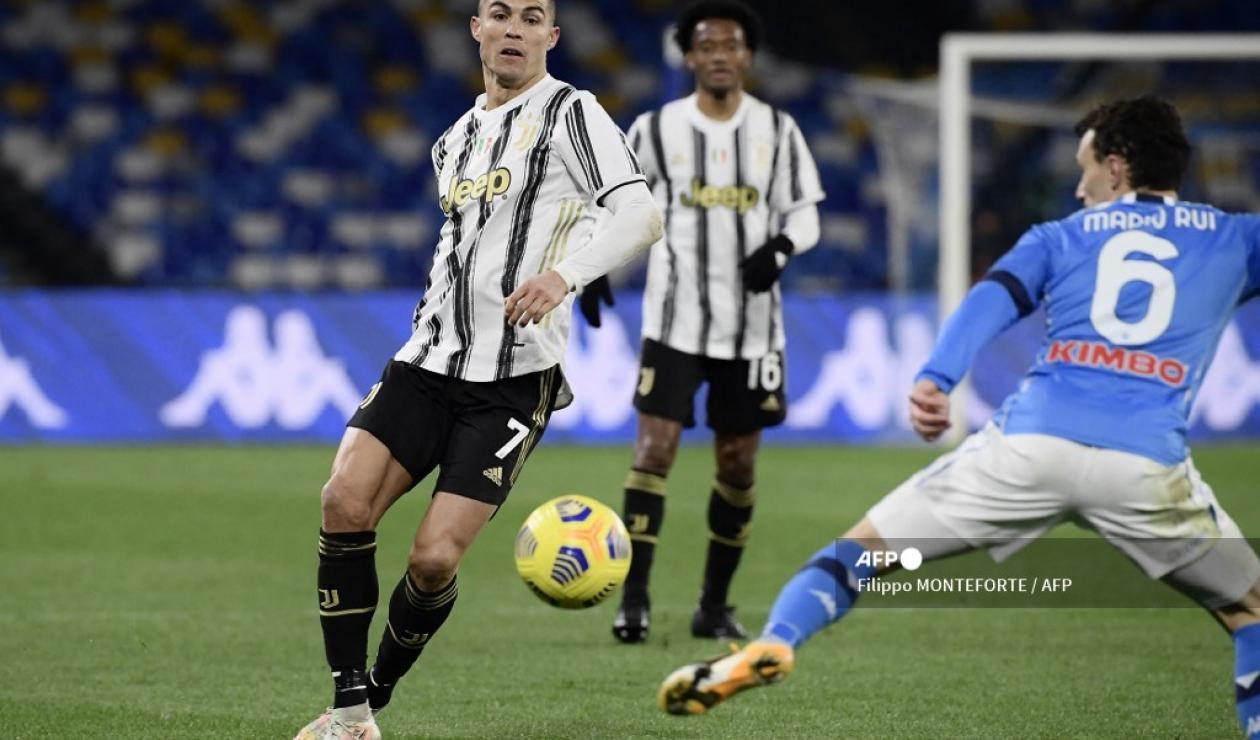 Juventus vs Napoli, 2021