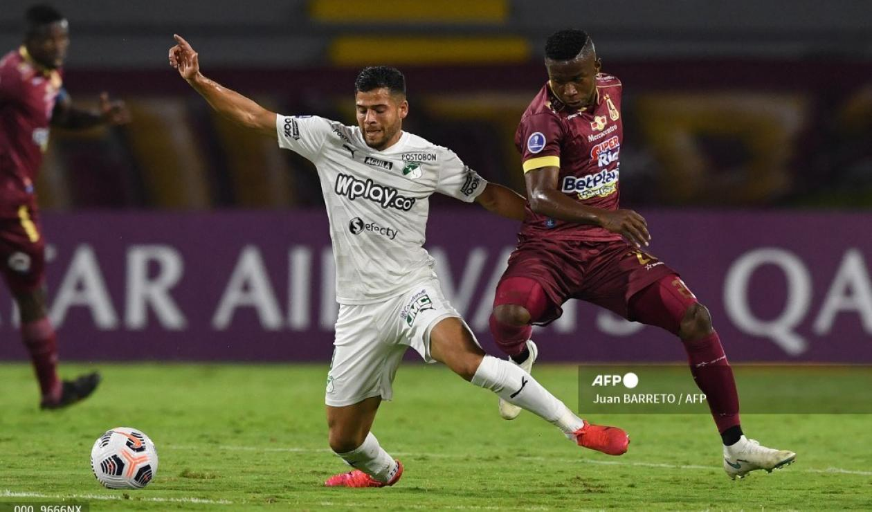 Deportes Tolima vs Deportivo Cali, Copa Sudamericana 2021