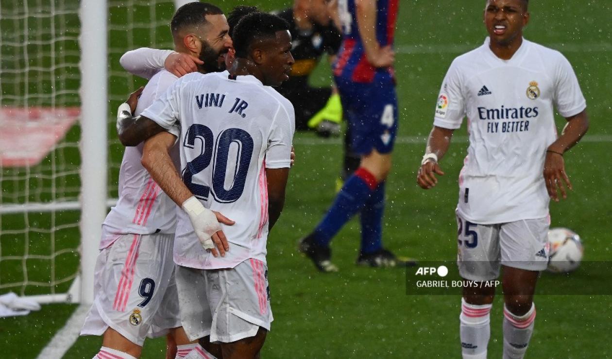 Real Madrid vs Eibar, liga española