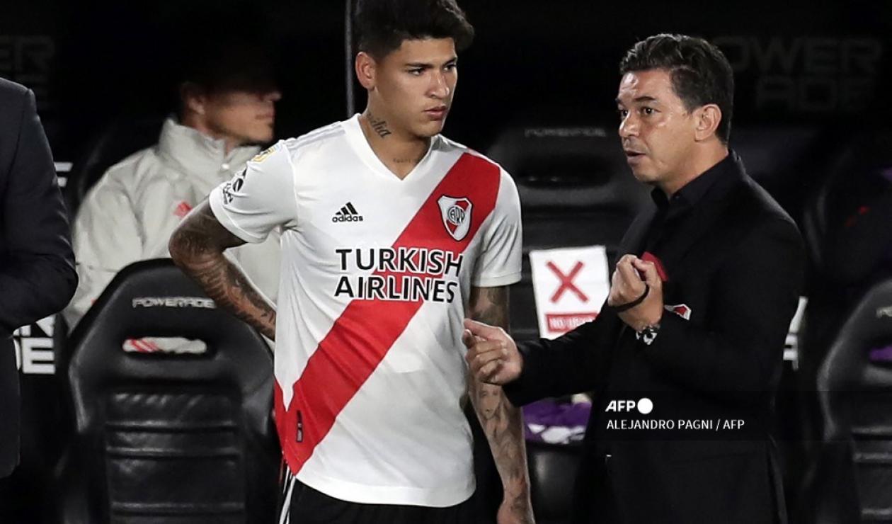 Jorge Carrascal y Marcelo Gallardo; River Plate