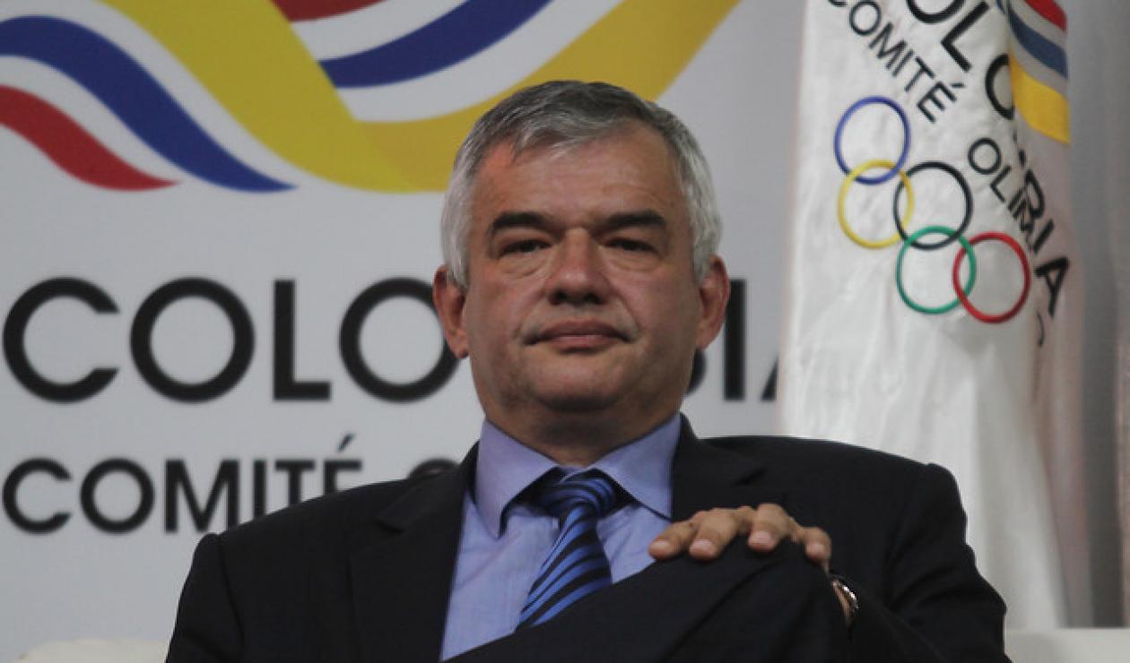 Ciro Solano presidente del Comité Olímpico Colombiano