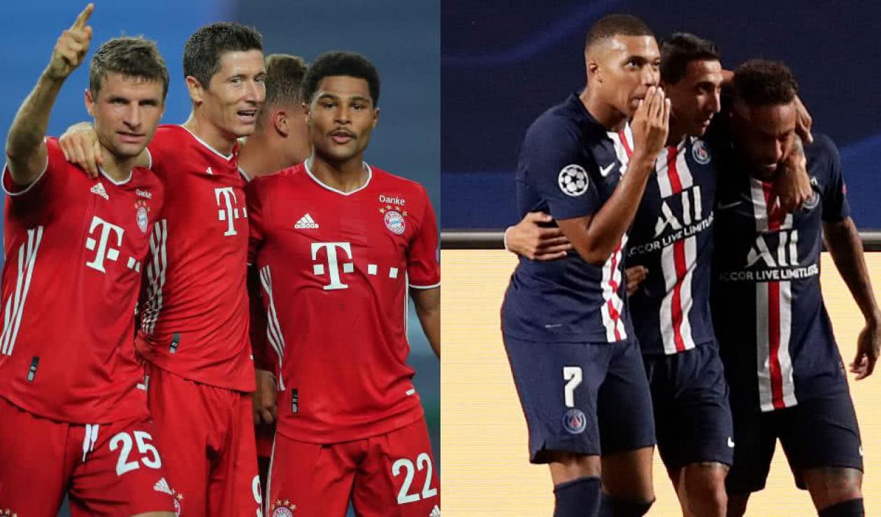 Bayern Múnich vs PSG, Champions League