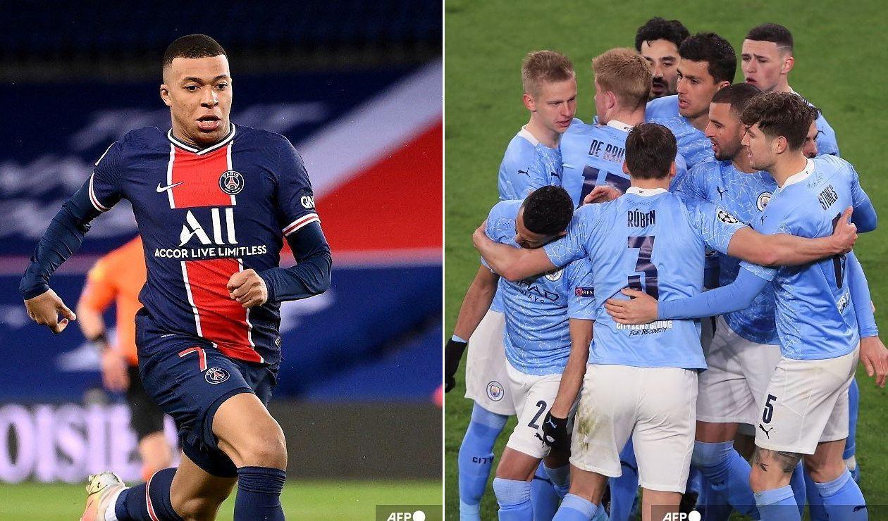 PSG vs Manchester City EN VIVO ONLINE GRATIS Champions ...