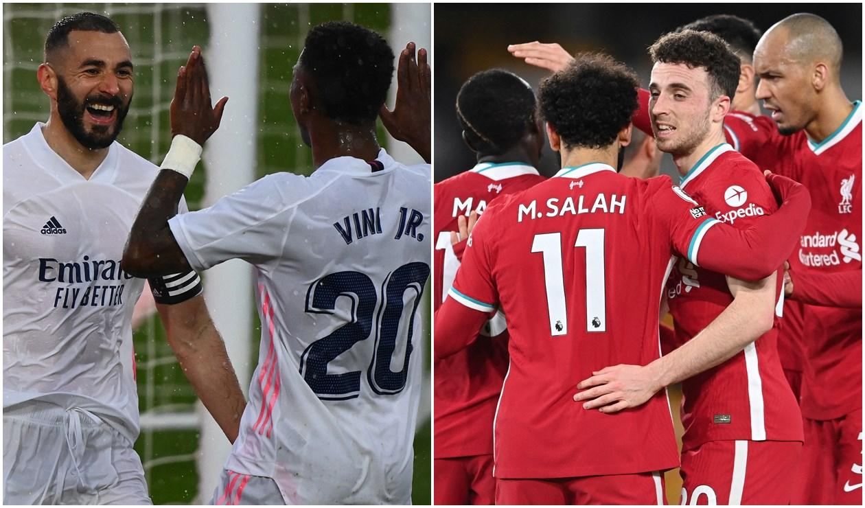 Real Madrid vs Liverpool, Champions League