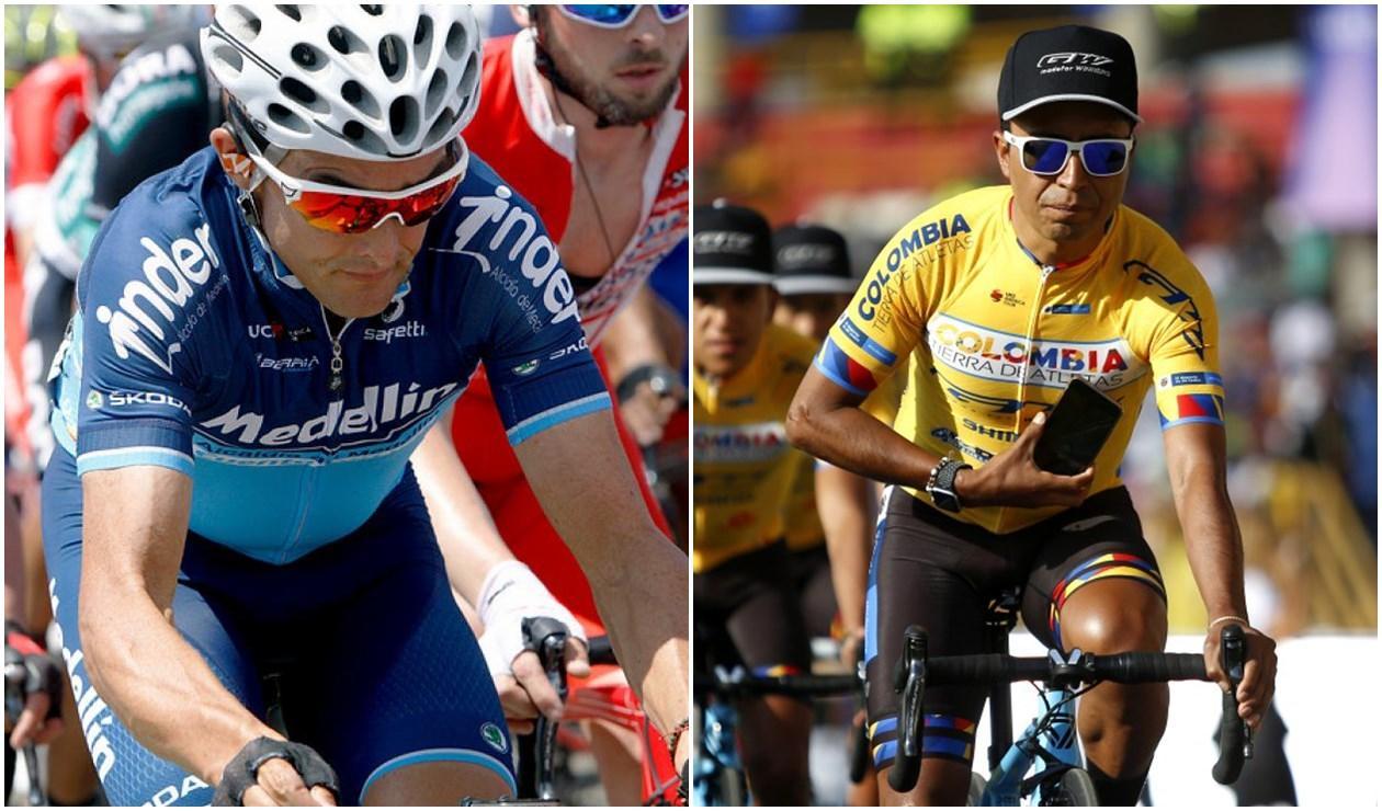 Óscar Sevilla y Darwin Atapuma, Vuelta a Colombia