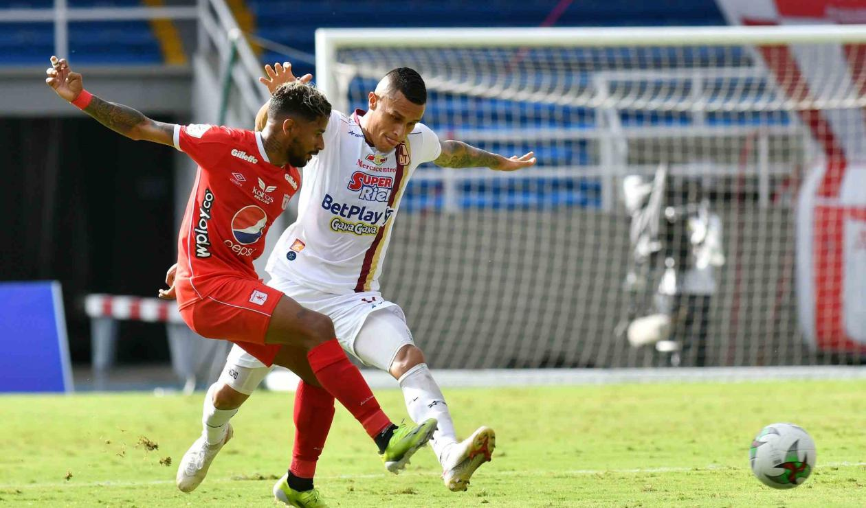 América vs Tolima; Liga Betplay 2021