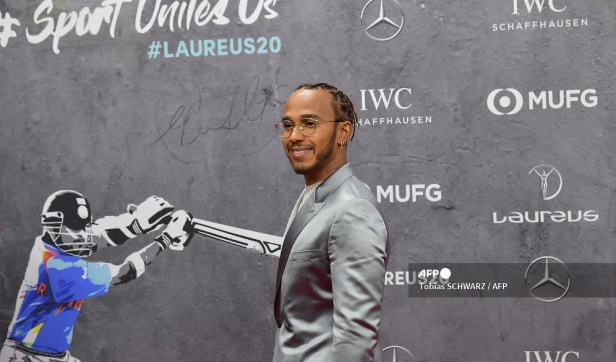 Lewis Hamilton - Laureus