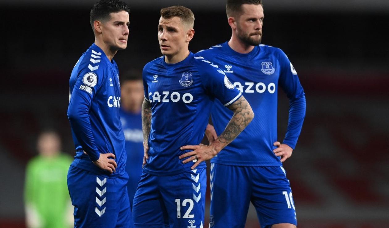 James Rodríguez, Everton, Premier League 2021