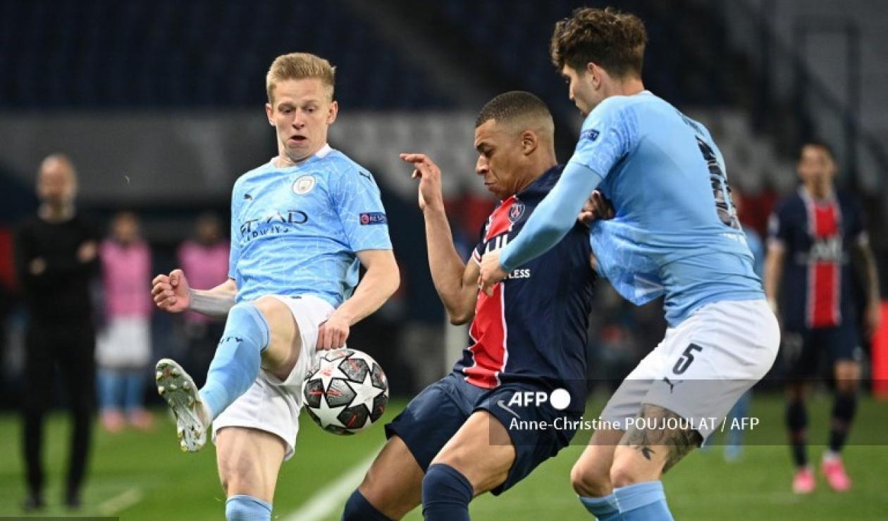 PSG vs Manchester City; Champions League 2021