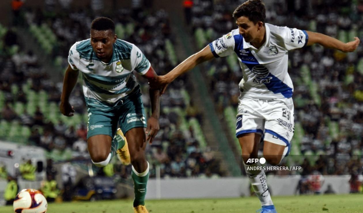Puebla vs Santos Laguna 2021