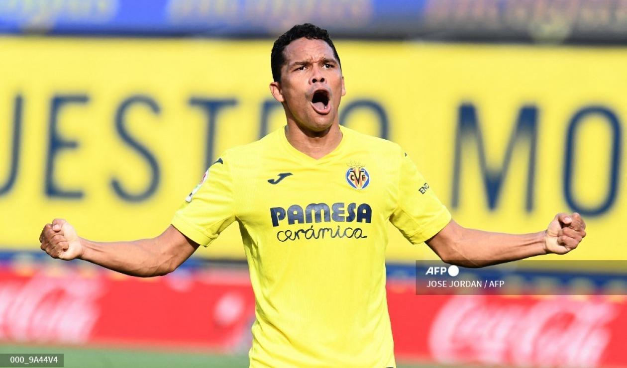 Carlos Bacca, Villarreal, liga española 2021