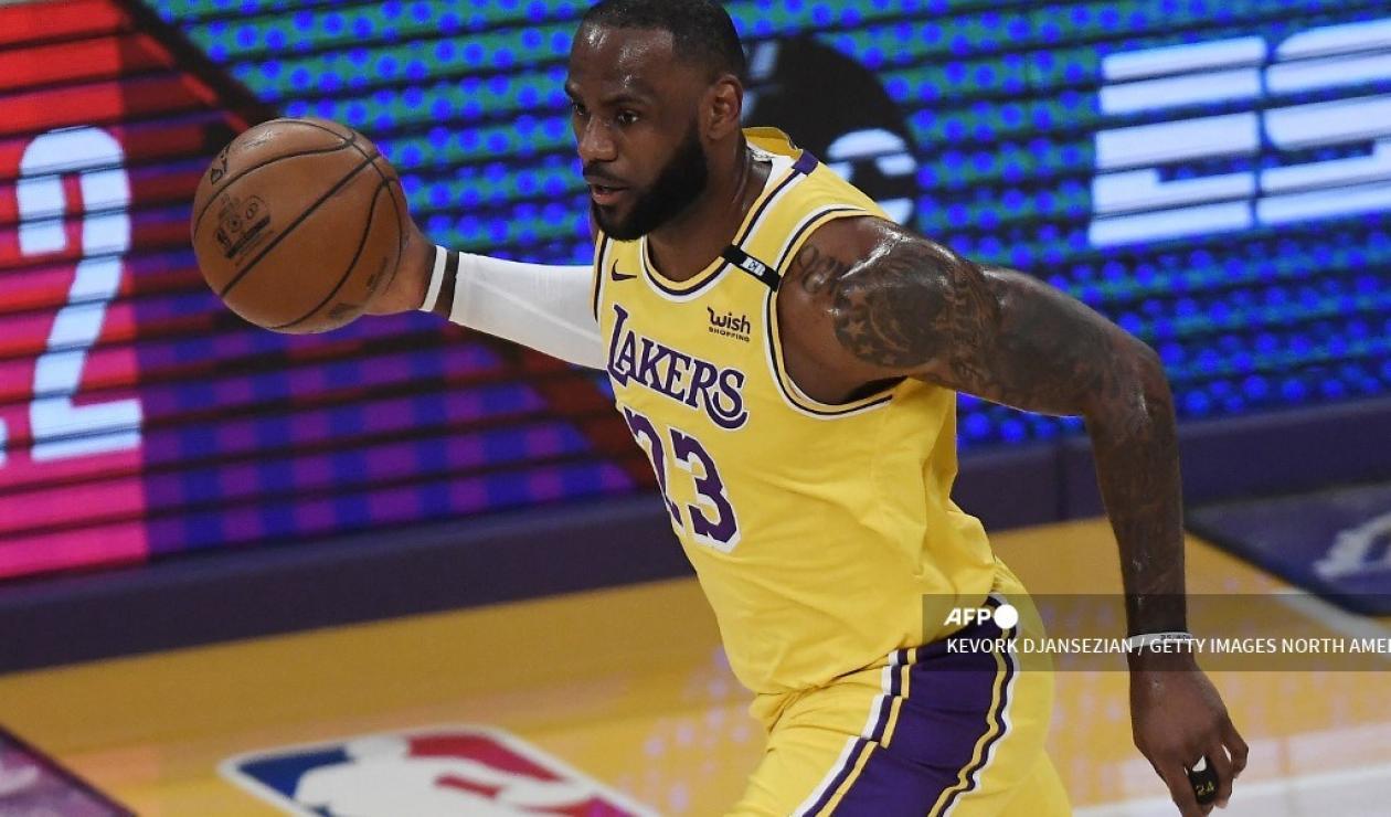LeBron James, jugador de baloncesto