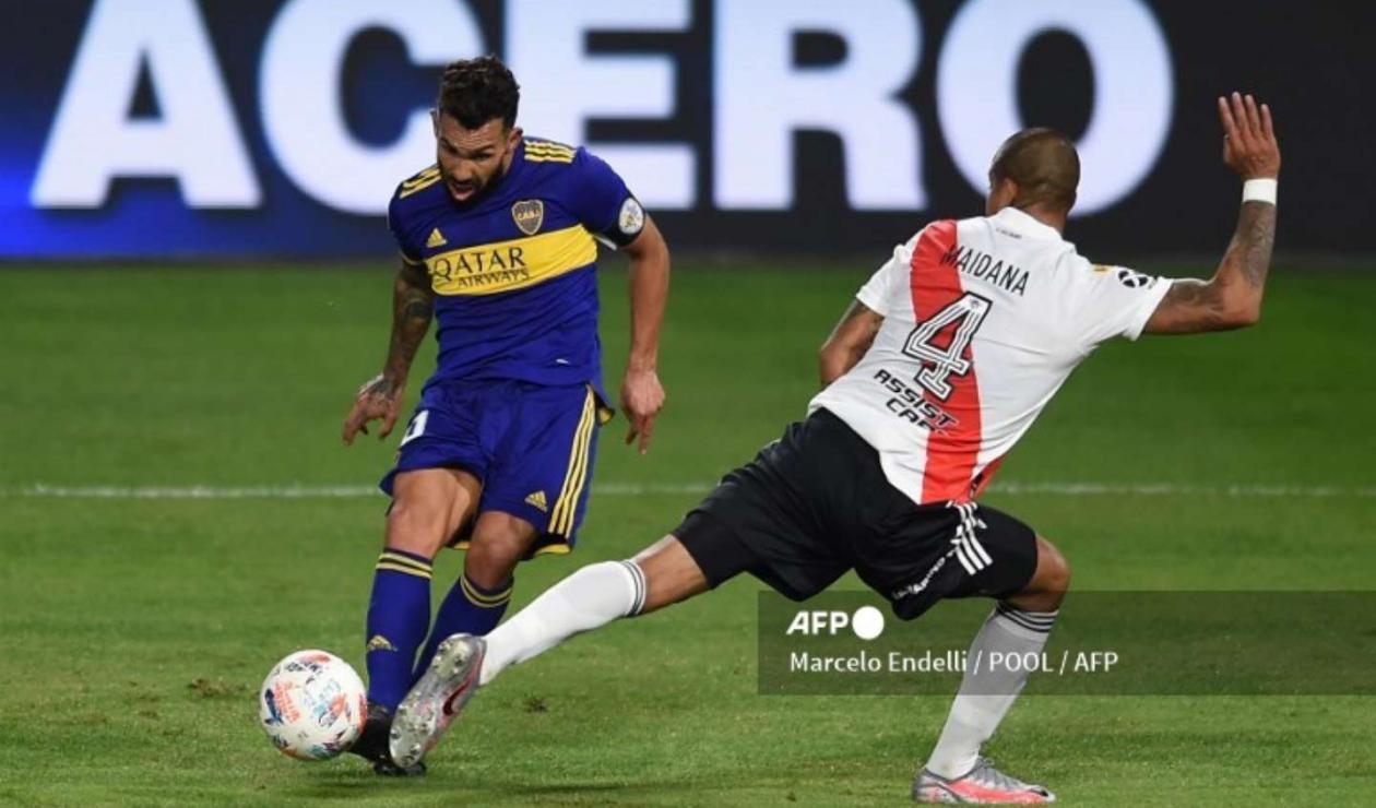 Boca Juniors Vs. River Plate 2021