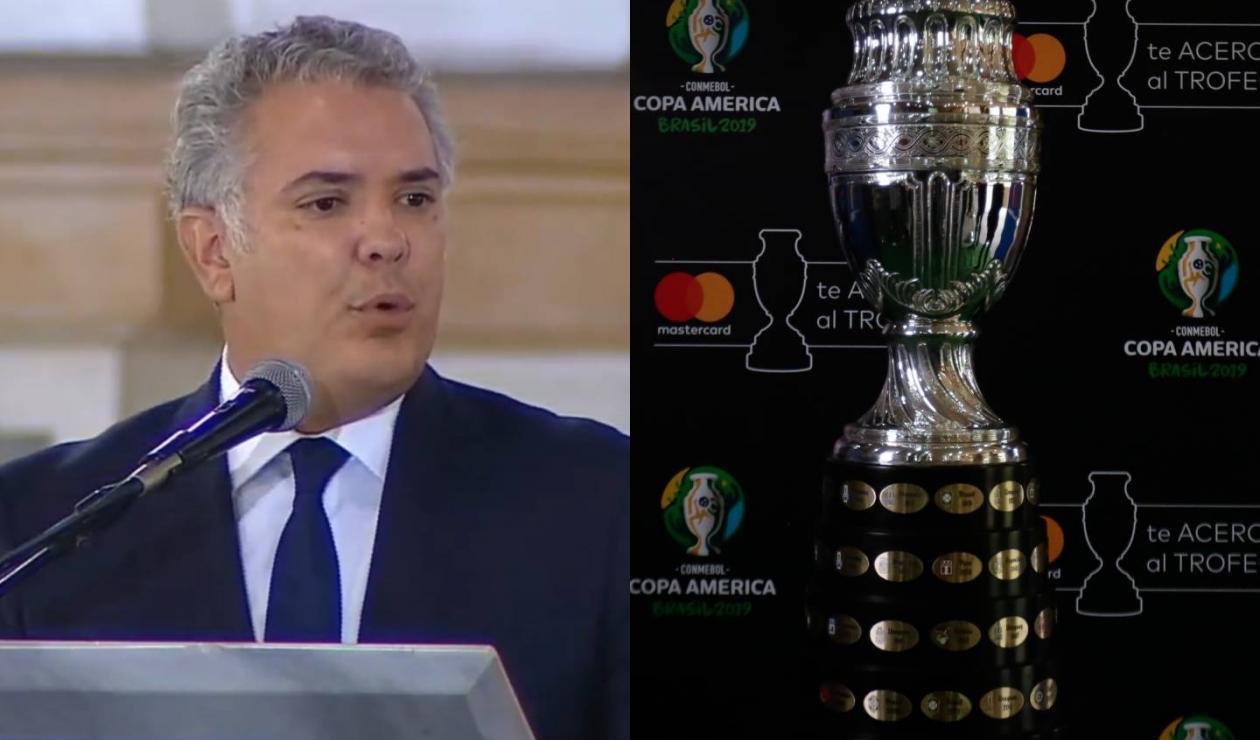 Iván Duque - Copa América
