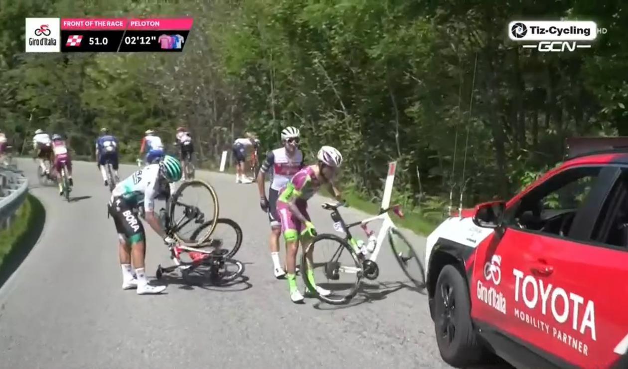 Gianluca Brambilla, Giro de Italia