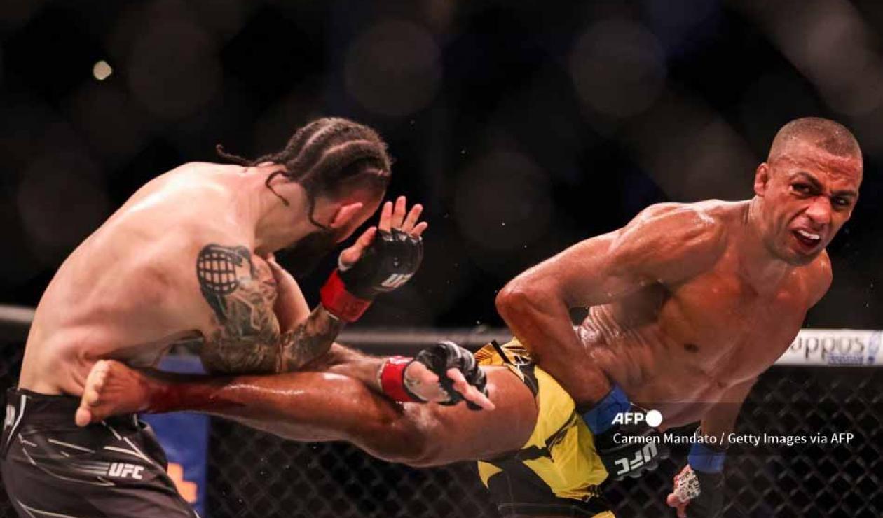 Edson Barboza y Shane Burgos: nocaut asombroso en UFC