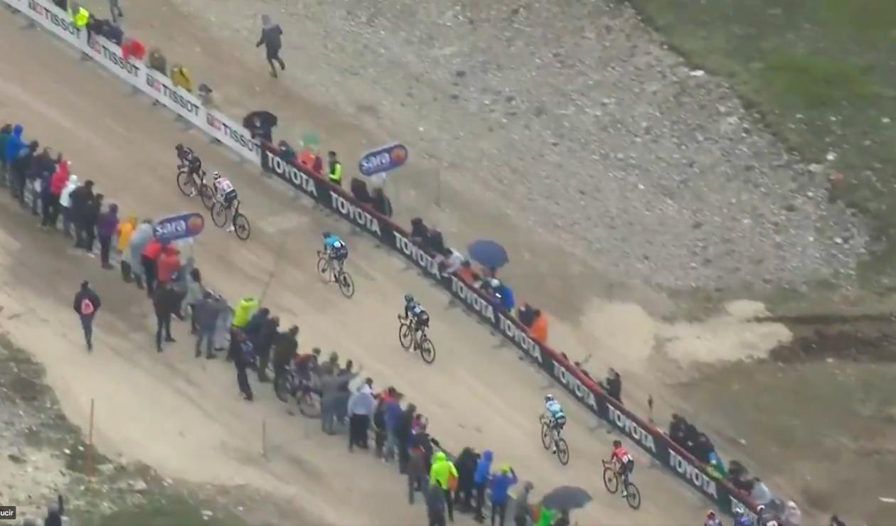 Egan Bernal, Giro de Italia 2021, ataque
