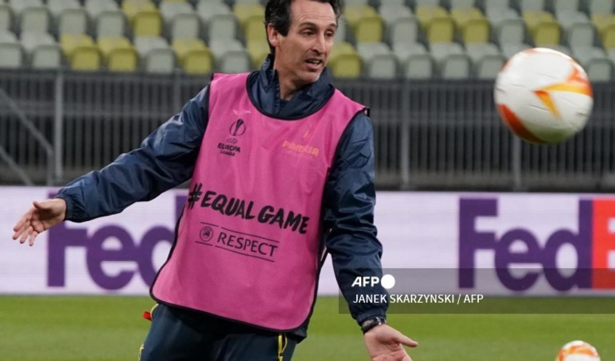Emery, técnico de Villarreal
