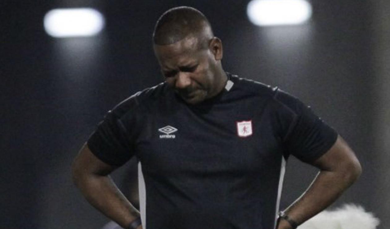 Jersson González, técnico de América
