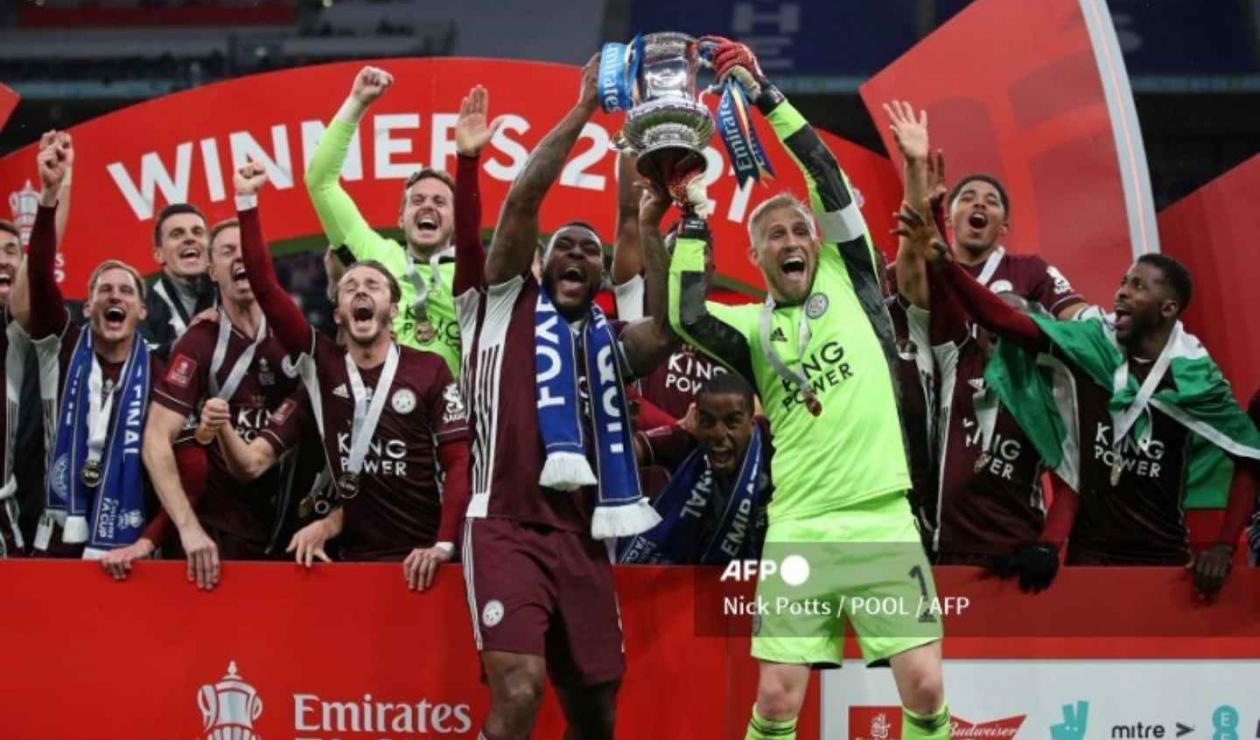 Leicester, campeón de la FA Cup