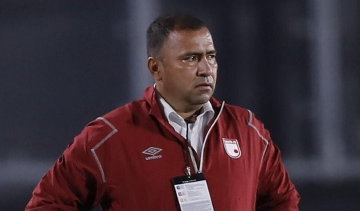 Harold Rivera, DT de Santa Fe 2021