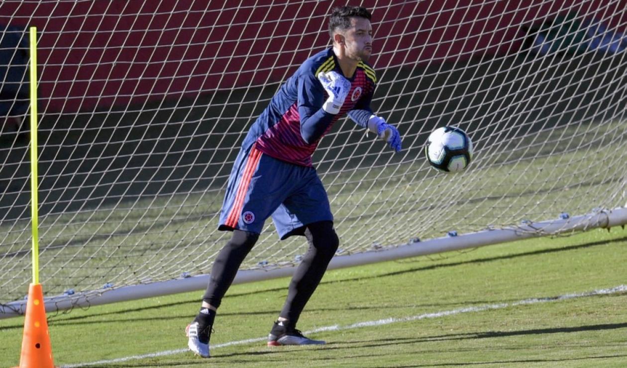 Camilo Vargas, Selección Colombia