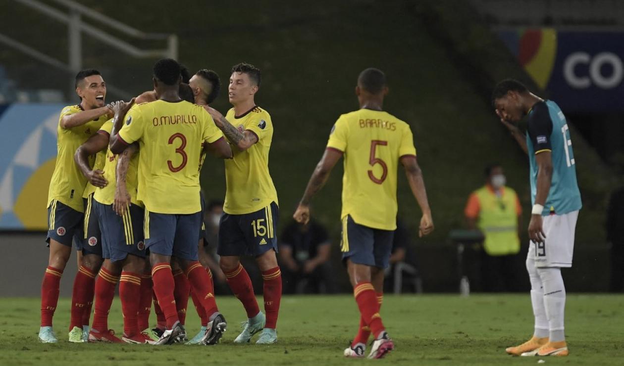 Colombia vs Ecuador, Copa América 2021
