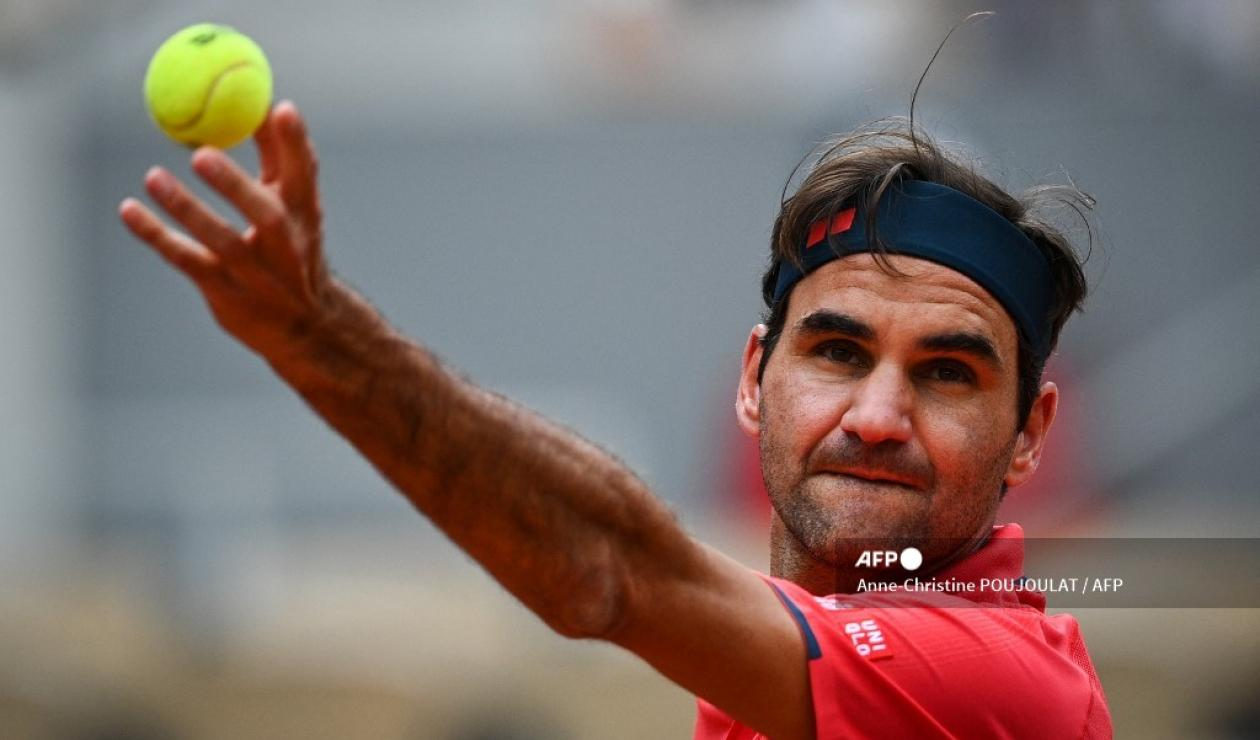 Roger Federer, Roland Garros 2021