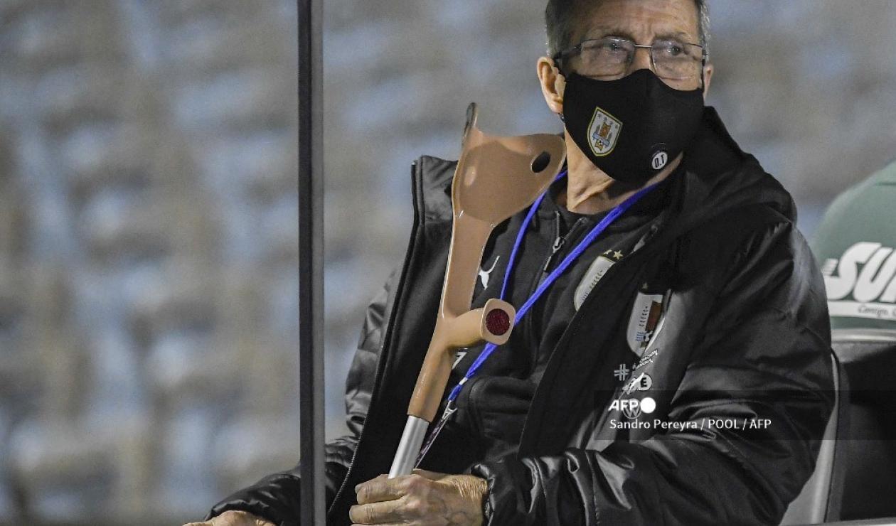 Óscar Tabárez, DT de Uruguay