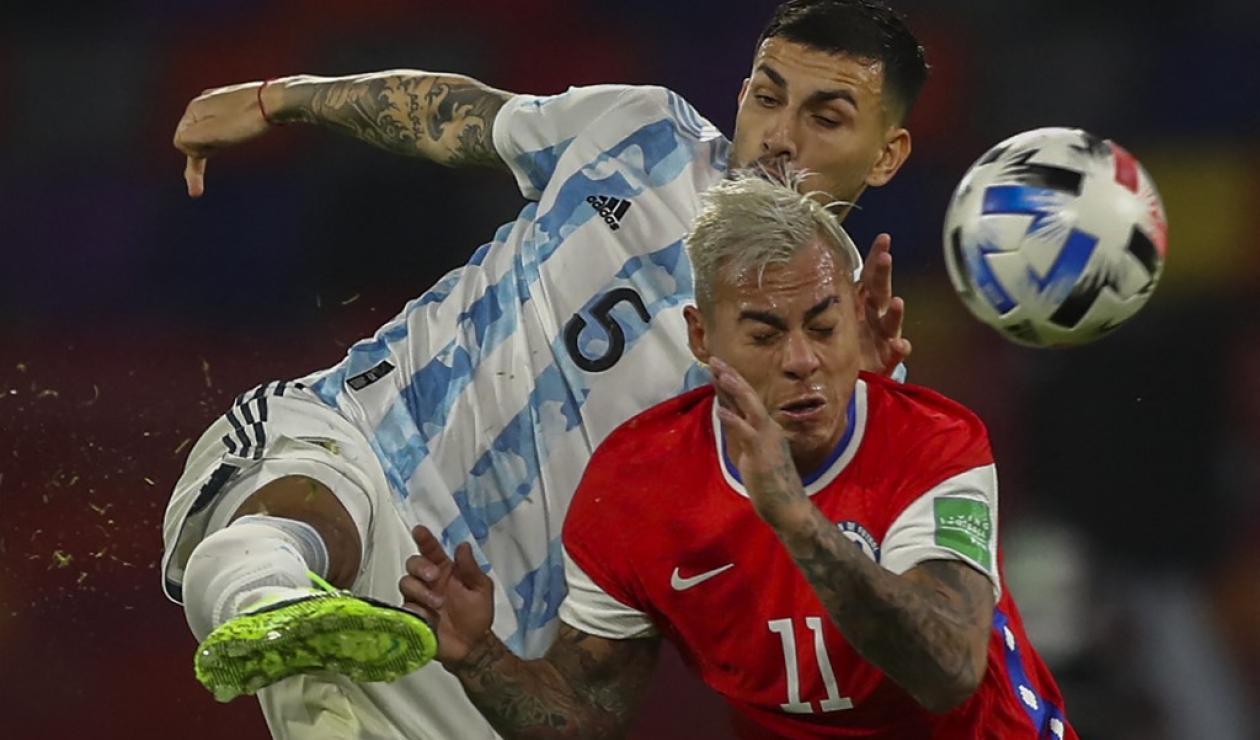 Argentina vs Chile; Copa América 2021