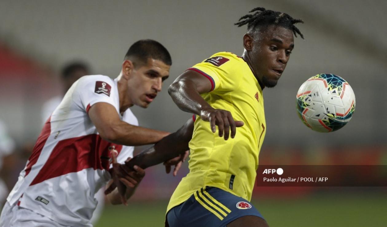 Perú vs Colombia 2021