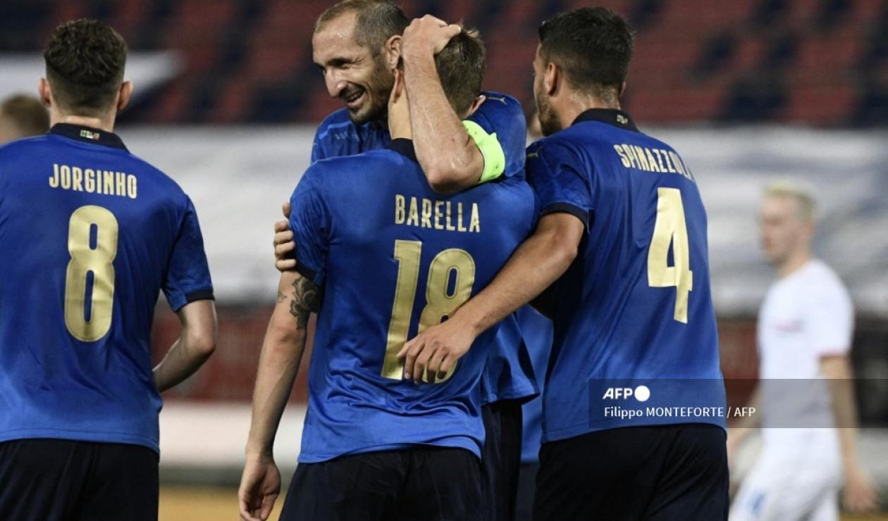 Selección de Italia 2021