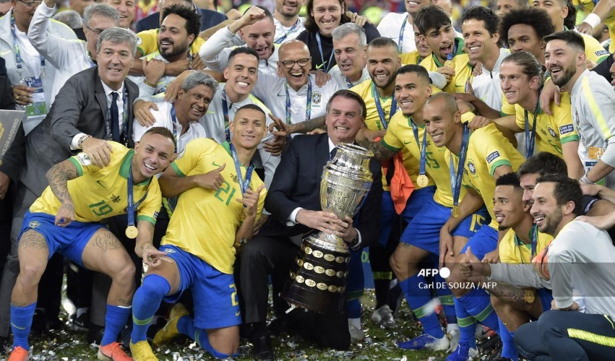 Brasil campeón Copa América 2019
