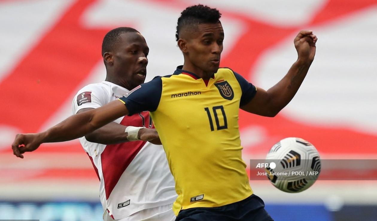 Ecuador vs Perú 2021