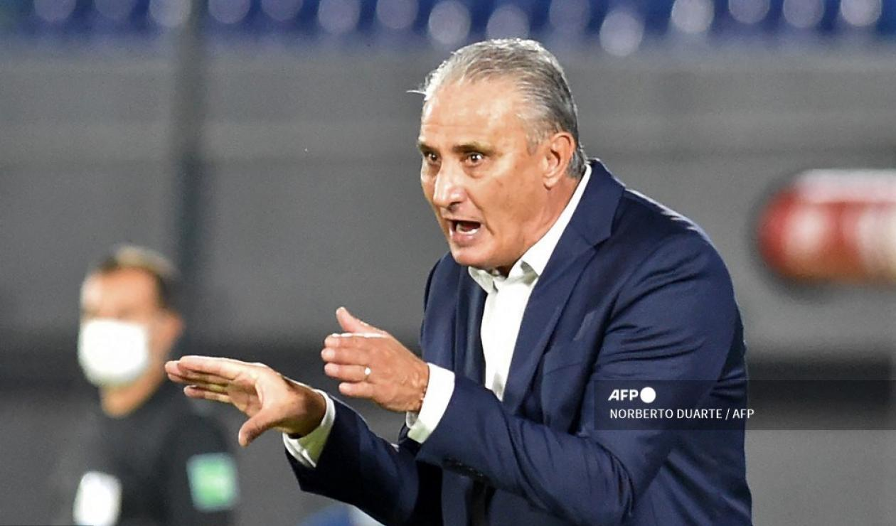 Tite, técnico selección Brasil