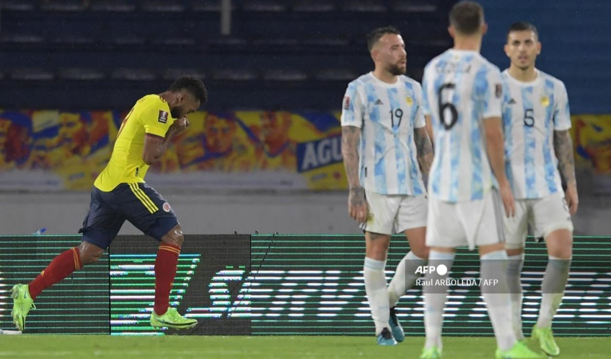 Colombia vs Argentina 2021