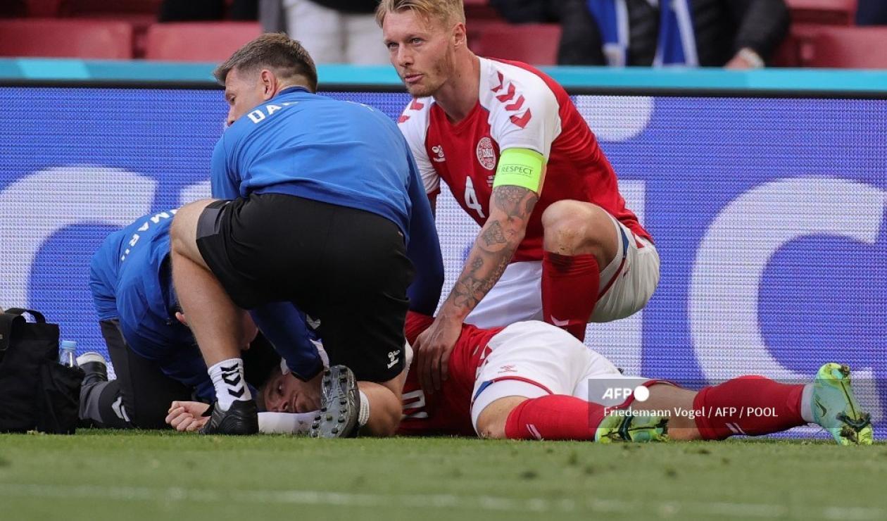 Christian Eriksen, Eurocopa 2021