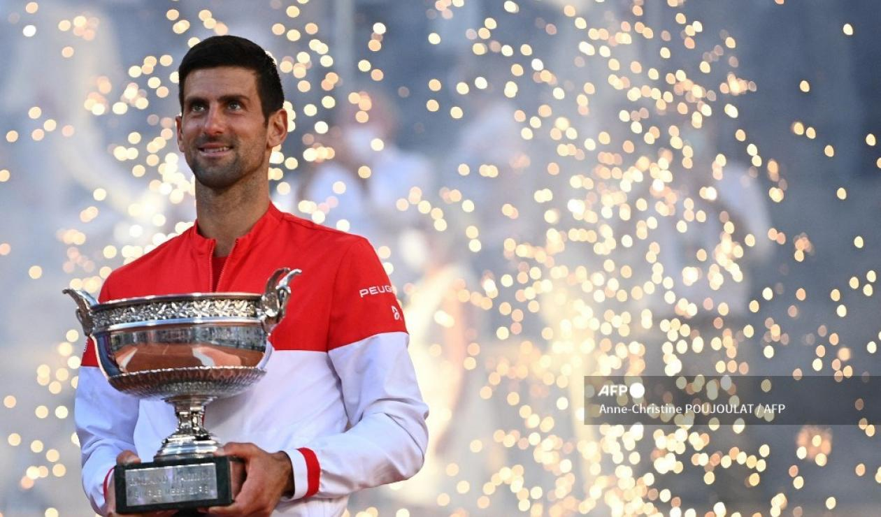 Novak Djokovic campeón Roland Garros 2021