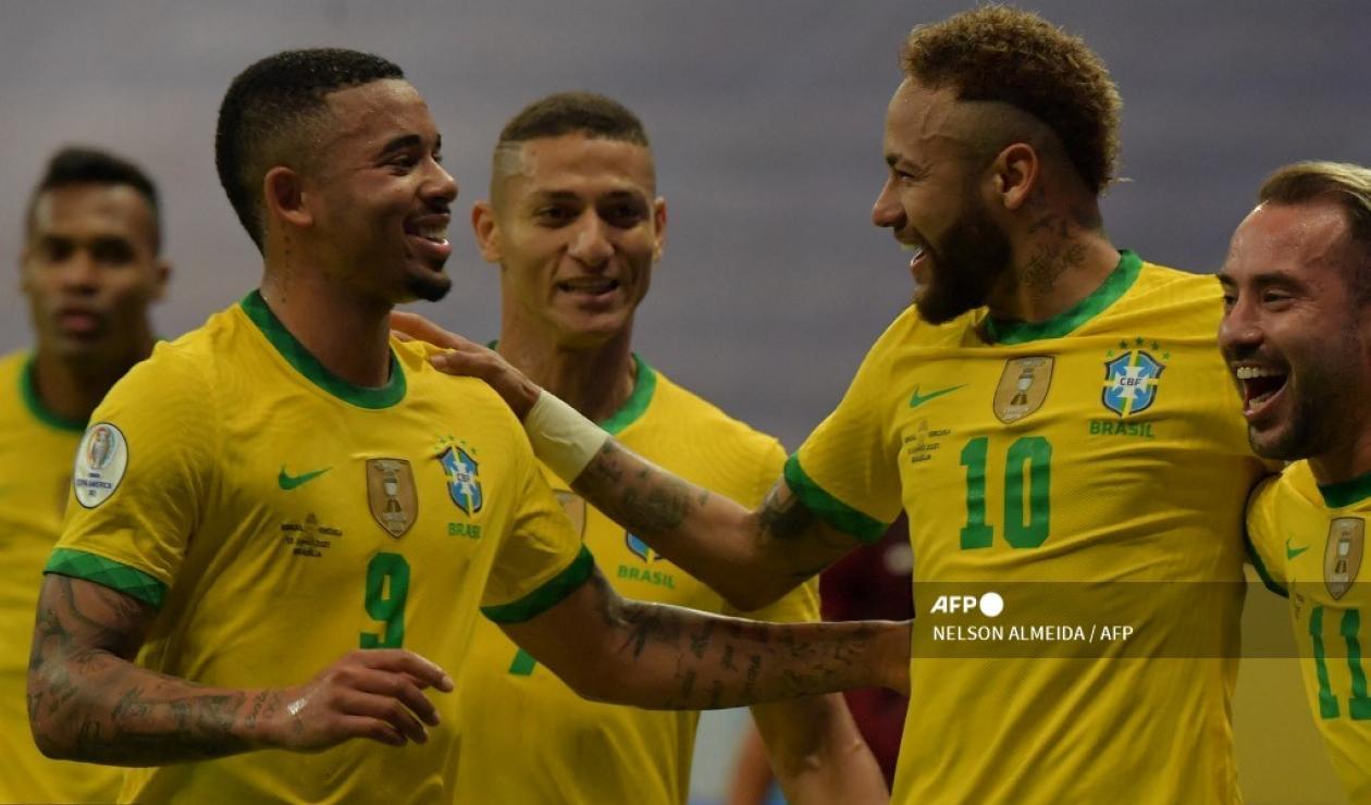 Selección Brasil 2021