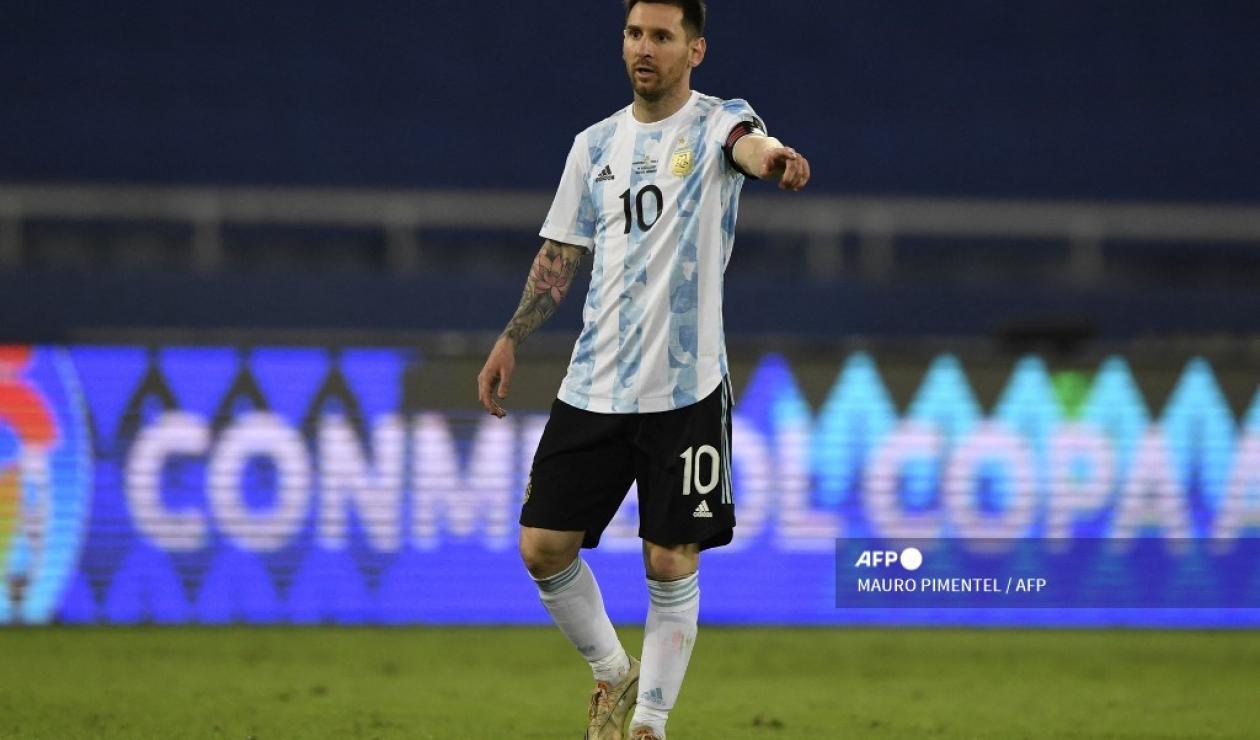 Lionel Messi - Argentina 2021