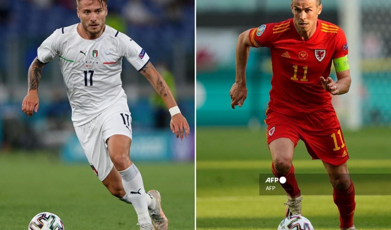 Italia vs Gales 2021