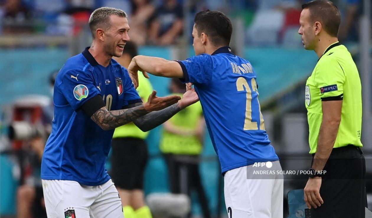 Italia vs Austria; Eurocopa 2021
