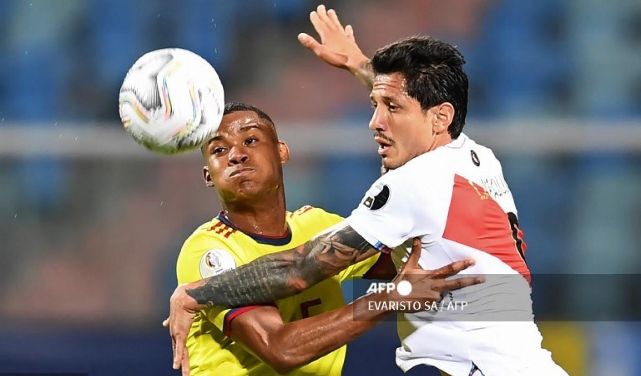 Wilmar Barrios, futbolista de Colombia