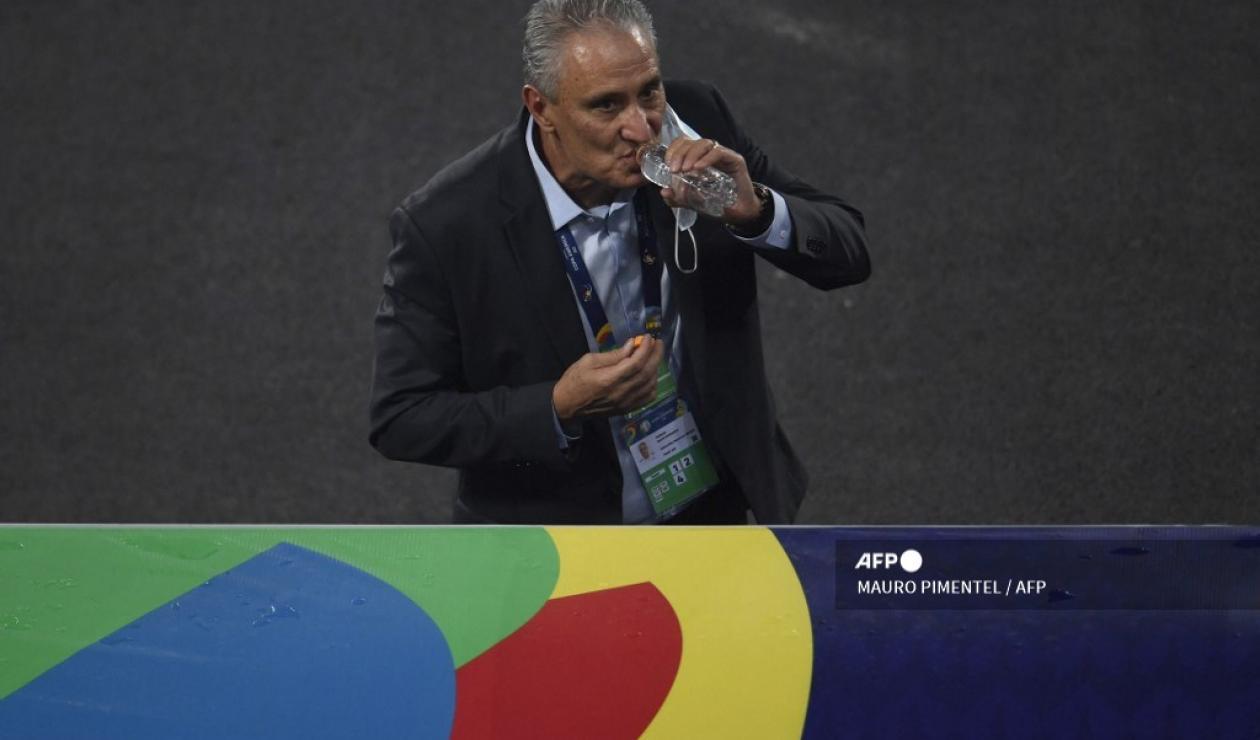 Tité, técnico de Brasil