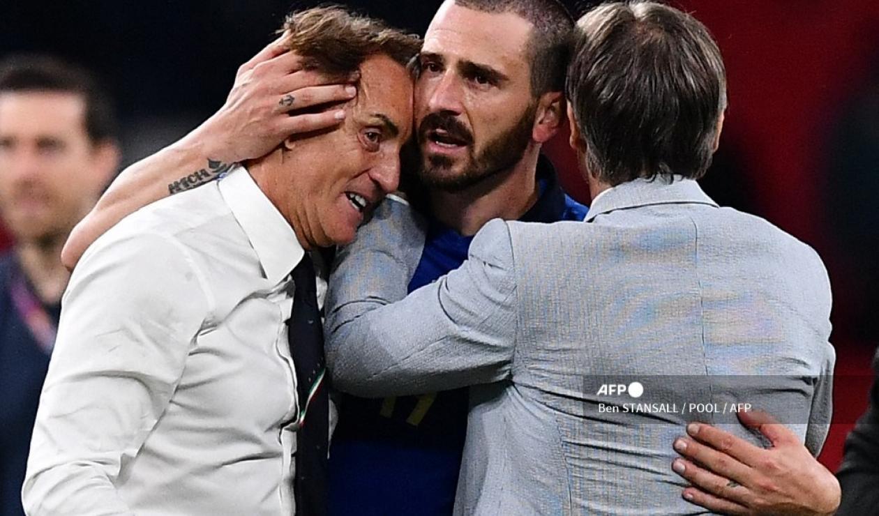 Roberto Mancini, técnico de Italia