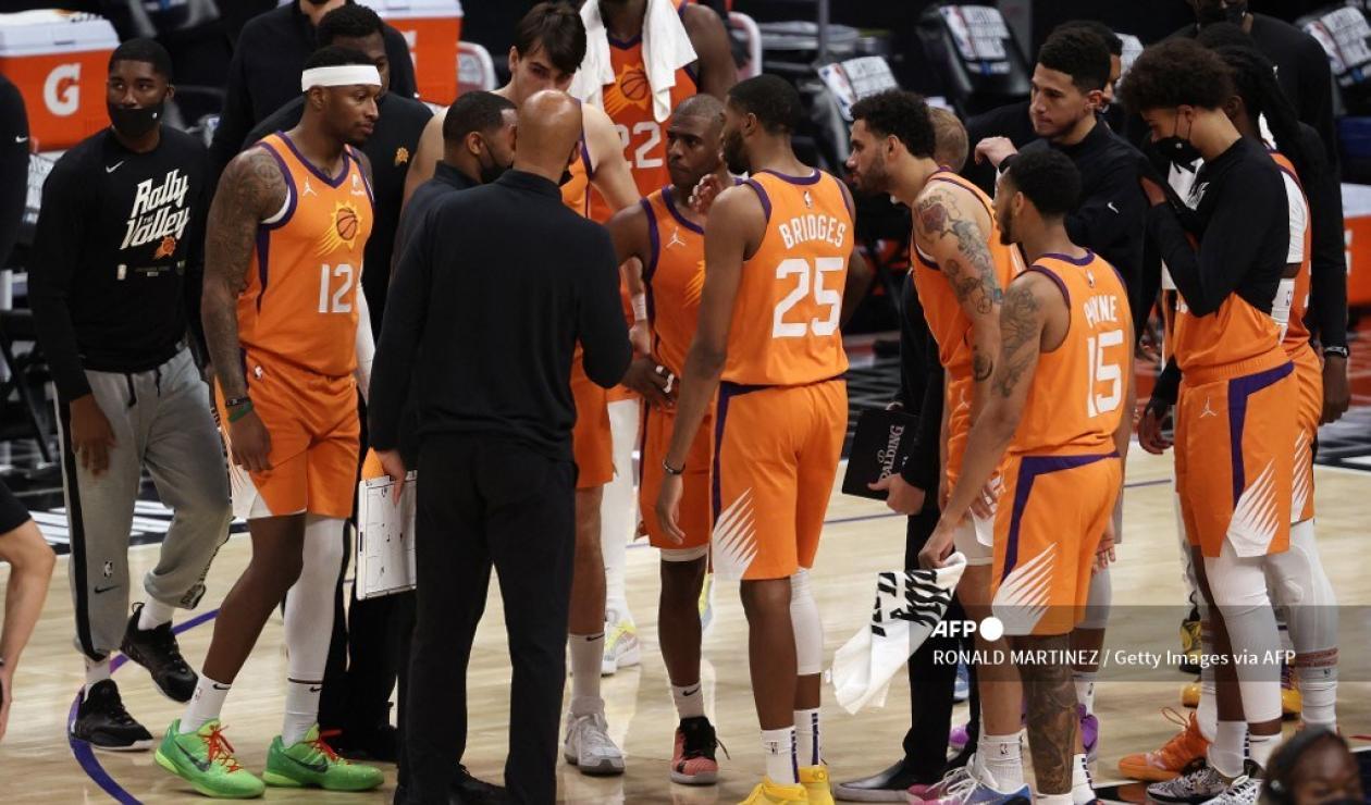 Suns vs Clippers, finales NBA