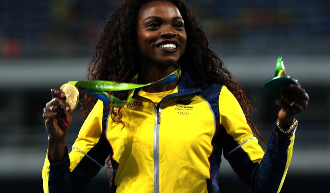 Caterine Ibarguen, Juegos Olímpicos