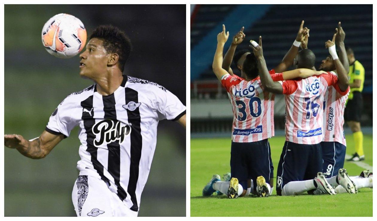 Alex Mejía y Junior de Barranquilla 2021