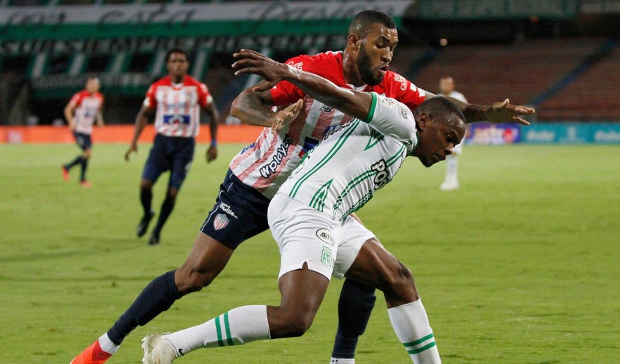 Atlético Nacional vs Junior; Liga Betplay